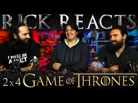 """RICK REACTS: Game of Thrones 2x4 """"Garden of Bones"""""""