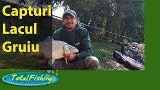 Pescuit la crap pe lacul Gruiu