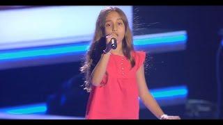 """Aitana: """"Corazón En La Maleta"""" - Audiciones a Ciegas - La Voz Kids 2017"""