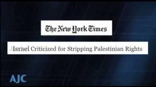 Hypocrisy: The Palestine Lobby's Double Standard