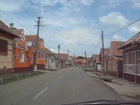 Drive to Gergeschdorf (Ungurei), Romania