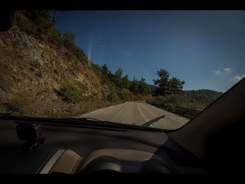 driving in Cyprus 2017 [limassol, agia napa, troodos] RELAXING