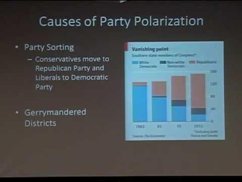 "David Lewis: ""Polarization and the Presidency"""