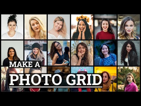 How to Make a Photo Grid Collage | TurboCollage