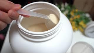 단백질보충제 피트니스스타 검은콩두유맛 타먹기