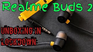 Realme Buds 2 unboxing, purchased from Flipkart in lockdown, overview details, music & mic quality