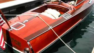 Dispatch 33' Garwood- (She starts around :55) V-12 Rolls Royce engine