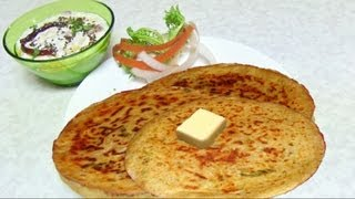 gajar muli paratha video recipe stuffed carrot radish bread recipe by bhavna