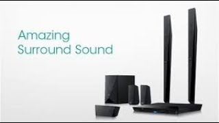 Unboxing SONY HOME THEATER 5.1 CHANNEL DAV DZ650