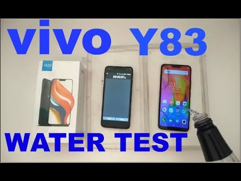 cheap for discount b0c29 6a392 Vivo Y83 Water Test
