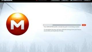 Як завантажувати файли на MEGA до 50 Гігабайт!