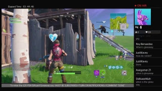 £20 PSN GIFTCARD GIVEAWAY!! + SHOTOUTS! [FORTNITE STREAM]