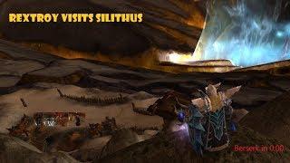 Raid Boss Paladin Visits Silithus