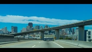 """13-23 San Francisco Bay Area #7: I-280 In-N-Out of """"The City"""""""