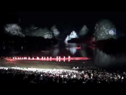 Impression Sanjie Liu, Mountain-Water Theatre, Guilin Yangshuo,
