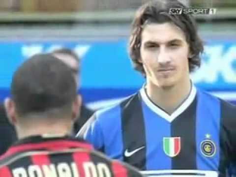 Z. Ibrahimovic Staring @ Ronaldo