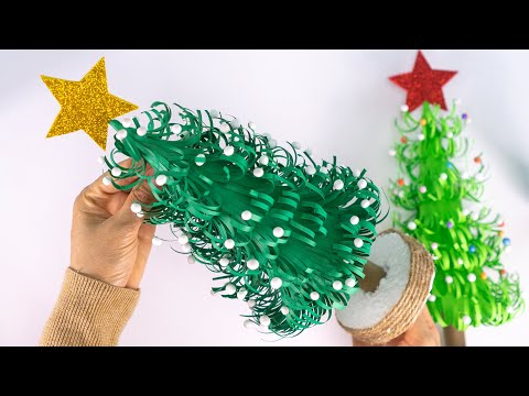 DIY Paper Christmas Tree | How to Make a 3D Christmas Tree | Christmas Decorations Ideas
