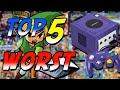 Top 5 Worst GameCube Games