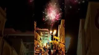 L'Italia campione d'Europa. Brindisi festeggia in piazza tanta gente e fuochi d'artificio