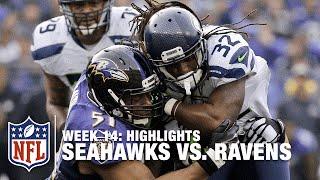 Seahawks vs. Ravens   Week 14 Highlights   NFL