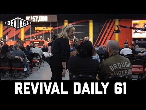 Live Motorcycle Auction tips - save your dough! // Revival Daily 61