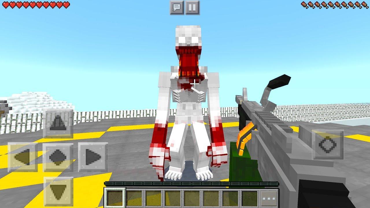 Minecraft PE : SCP FOUNDATION MOD in Minecraft Pocket Edition
