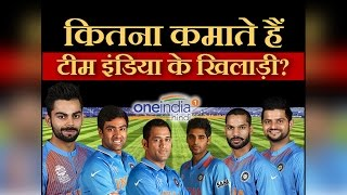 indian cricket player s salaries and highest paid cricketers in 2016 वनइ ड य ह द