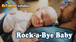 Rock a Bye Baby Lullaby🌛 Music Box Instrumental for Bed Time