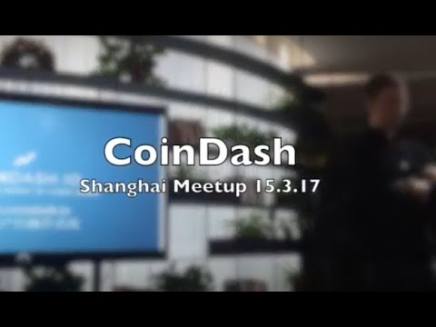 CoinDash Shanghai meetup
