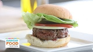 The Trick To Forming Perfect Burger Patties - Everyday Food With Sarah Carey