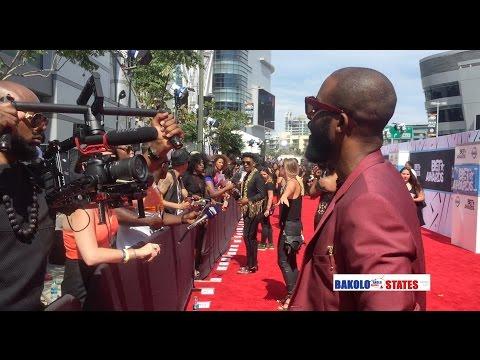 Pourquoi Fally Ipupa n'a pas gagné BET Award? Exclusivité- les couloirs et le RED carpet du BET 2015