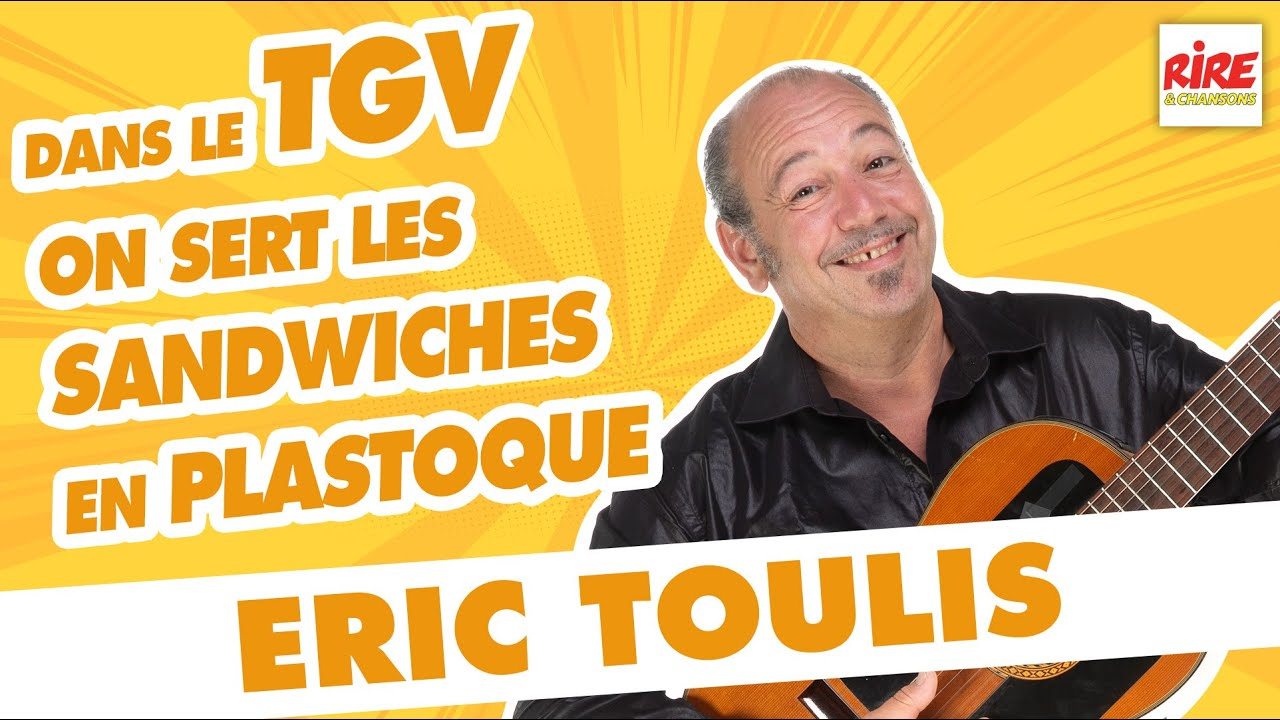 """Eric Toulis : """"Dans les TGV, y'a l'air climatisé..."""" #rireetchansons"""