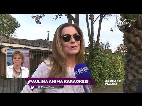 La nueva vida de Paulina Nin animando karaokes - PRIMER PLANO