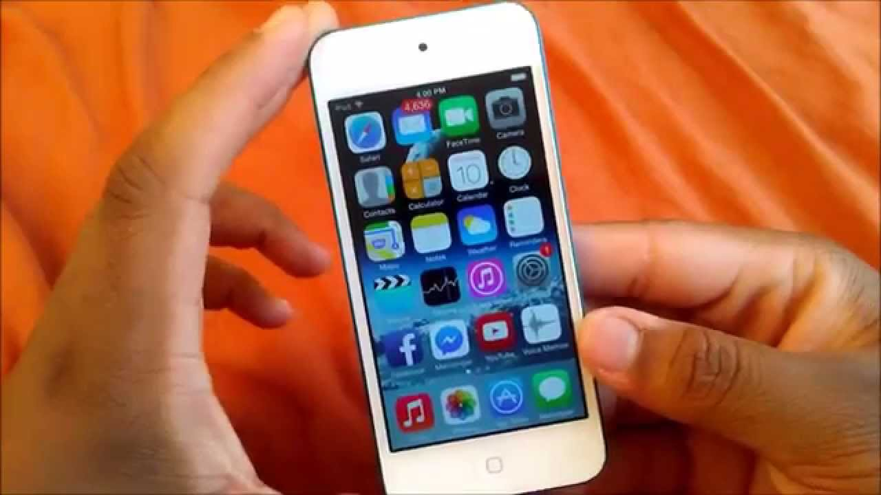 Apple Ipod Touch 5th Generation Review Youtube