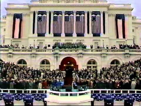 Inauguration of George H.W. Bush Jan 20, 1989
