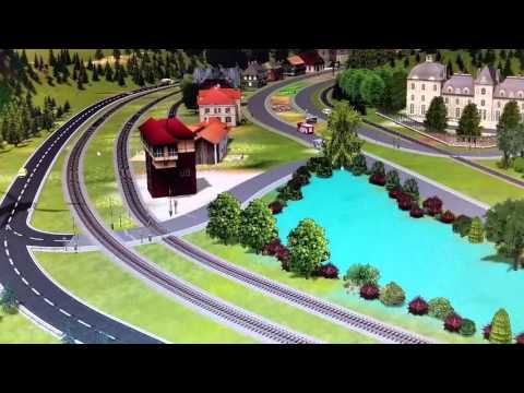 Virtuelle Eisenbahnanlage Nr.1