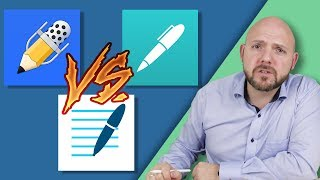 Best Note-Taking App for iPad Pro and Apple Pencil 2018 - Notability vs GoodNotes vs Noteshelf