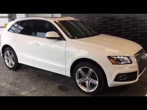 AUDI Q5 PREMIUM S LINE 2011 - 18098A - Vidéo de l'intérieur et l'extérieur - Mercedes-Benz Granby
