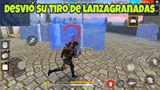 """El """"TRUCO"""" PARA DESVIAR EL LANZA GRANADAS *FREE FIRE*"""