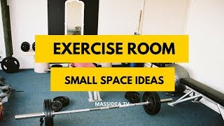 65+ Creative Small Space Exercise Room Ideas
