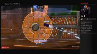 Rocket league with skull