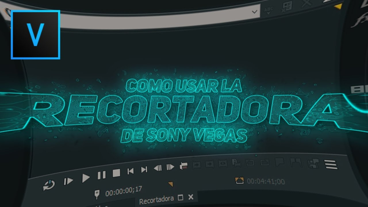 Como Usar La Recortadora Sony Vegas Pro Tutorial Youtube