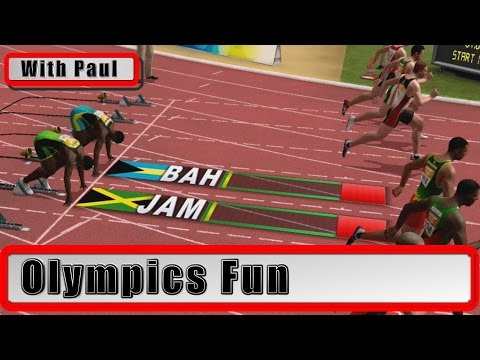 Olympics Fun - Jamaica Vs The Bahamas - Professionals