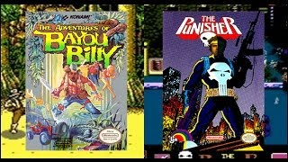 Bayou Billy / The Punisher - Angry Video Game Nerd & Pat the NES Punk (Part 1)(The Angry Video Game Nerd teams up with Pat the NES Punk to review two NES games: The Adventures of Bayou Billy & The Punisher! Watch Part 2 here ..., 2014-07-03T16:16:50.000Z)
