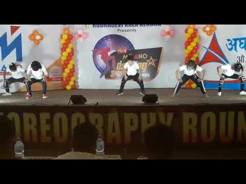 Dance performed on choreography Round //MILANO DANCING SUPERSTARS