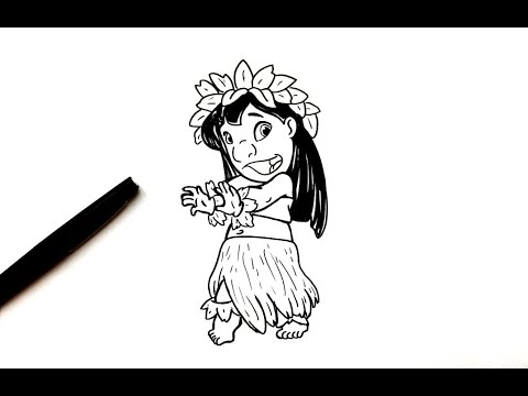 Dessin Lilo Lilo Et Stitch Youtube