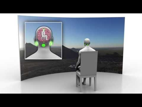 Animation of Mayo Clinic's Galvanic Vestibular Stimulation (GVS) Technology