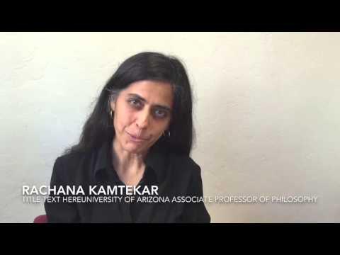 Downtown Lecture Series: Rachana Kamtekar