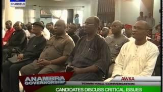 Anambra Governorship Debate: Candidates Discuss Critical Issues Pt 2