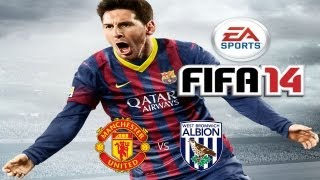 FIFA 14 By EA SPORTS - Man U Vs W. Brom Gameplay Video